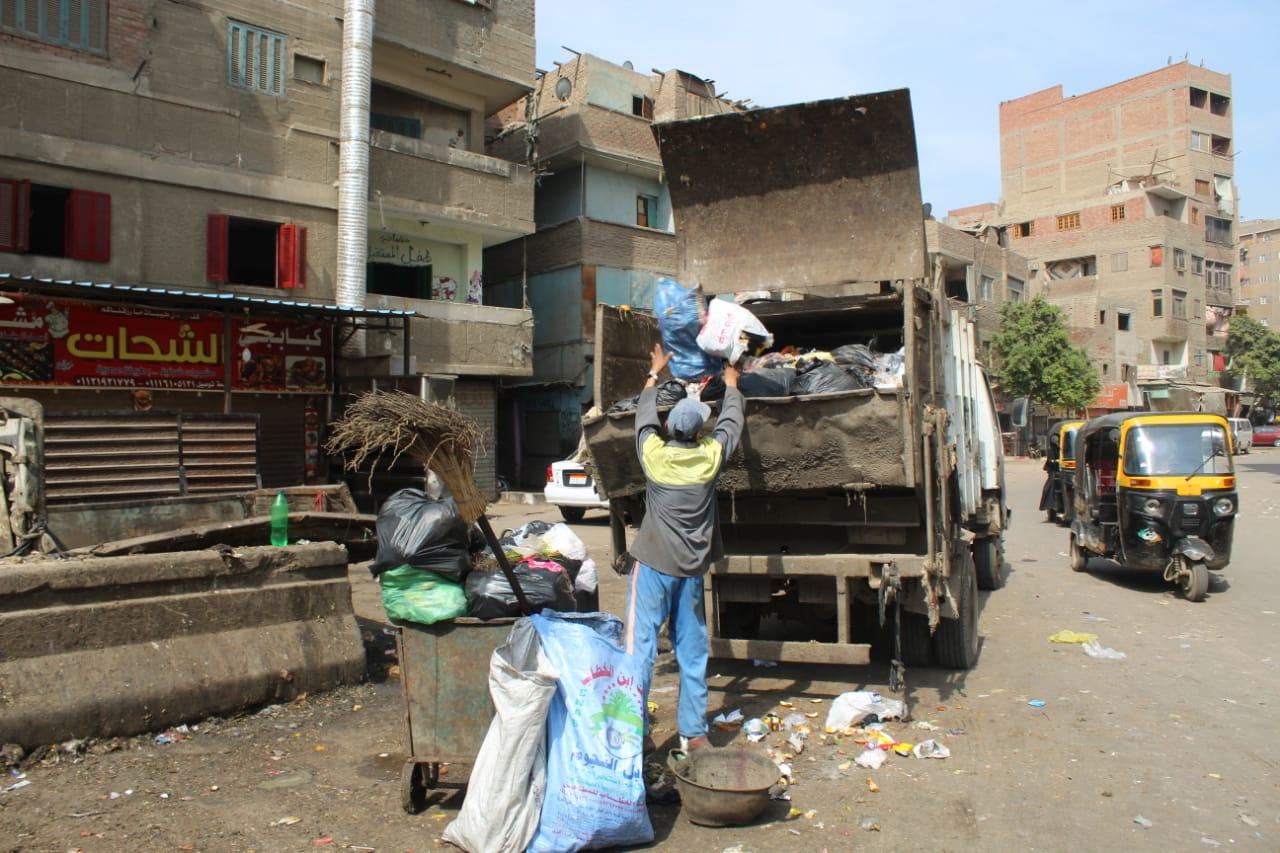 رفع القمامة ببولاق الدكرور (4)