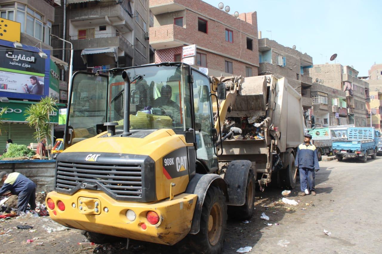 رفع القمامة ببولاق الدكرور (7)