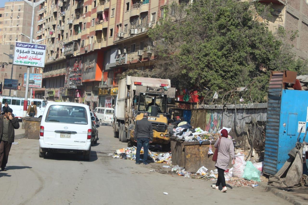 رفع القمامة ببولاق الدكرور (2)