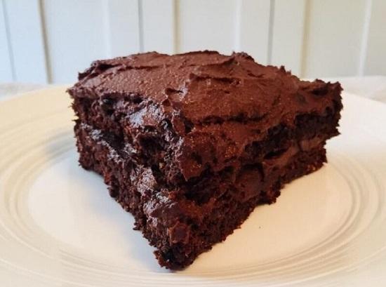 طريقة عمل الكيك بالشوكولاتة (3)