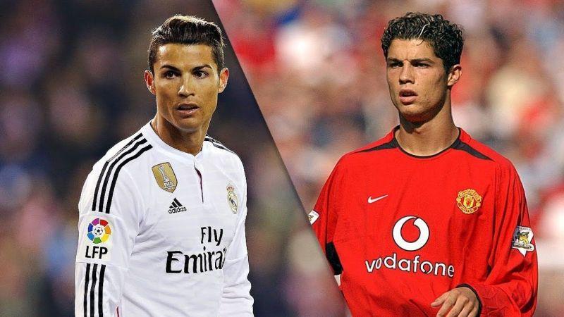 رونالدو توج بلقب الأبطال مع مان يونايتد وريال مدريد