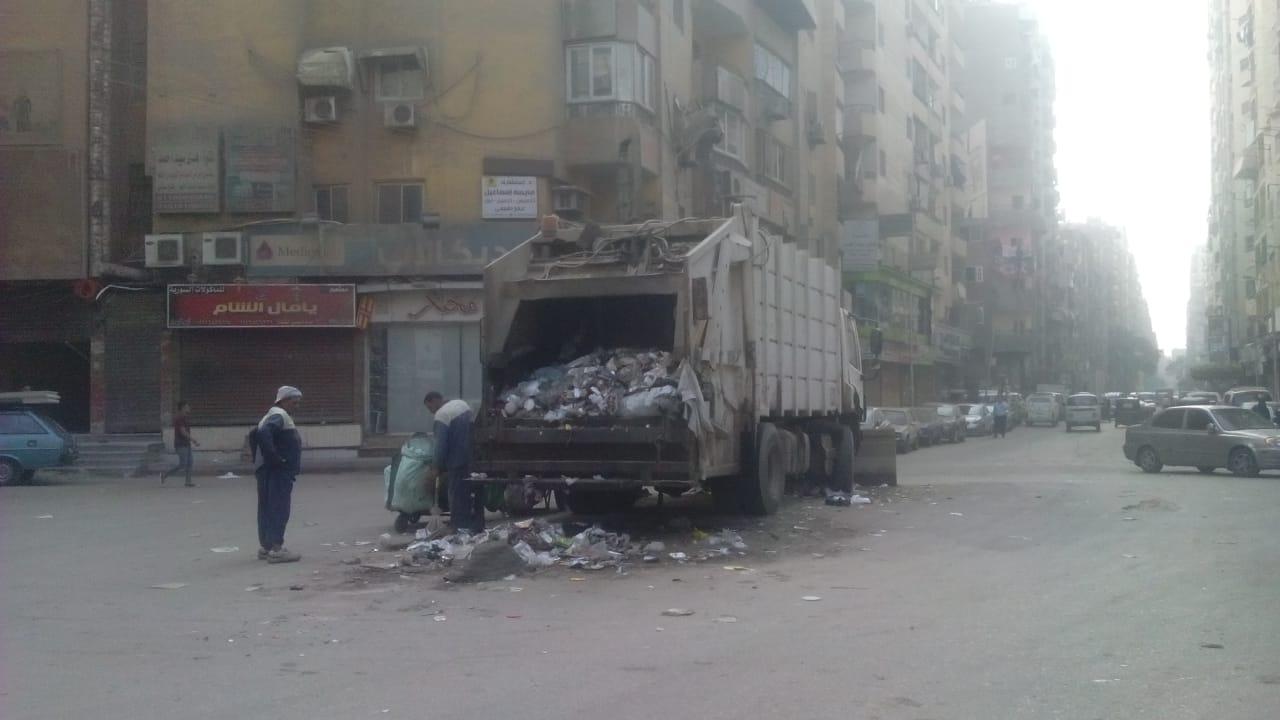 رفع القمامة ببولاق الدكرور (5)