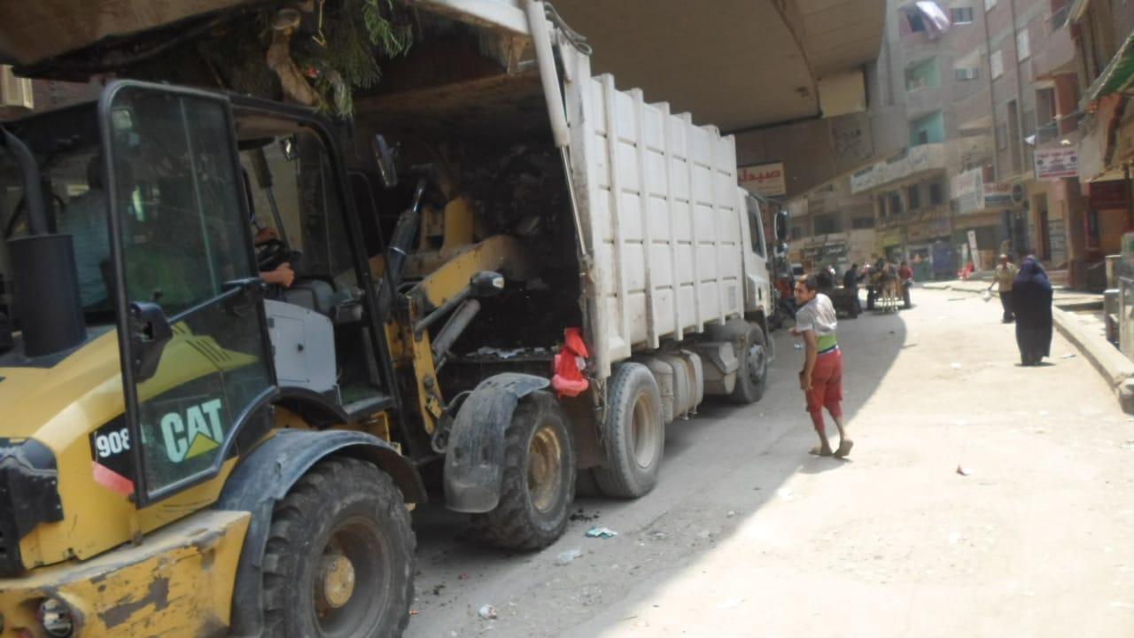 رفع القمامة ببولاق الدكرور (6)