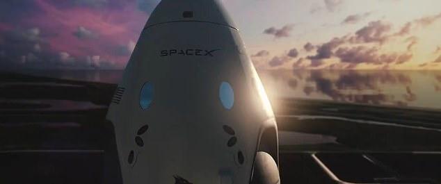 كبسولة spacex