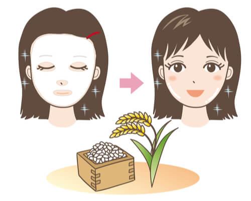 ماسك الارز اليابانى