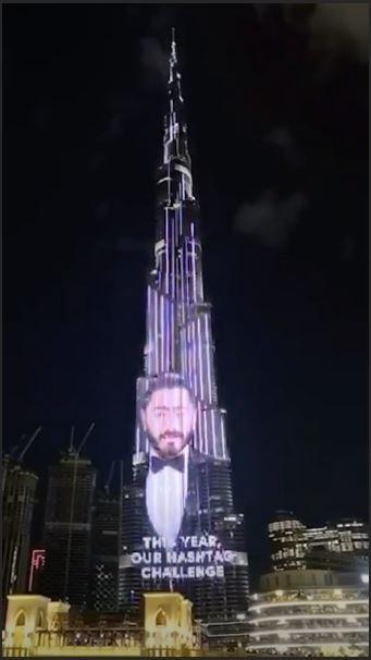 تامر حسنى يطلق تحديا عالميا بفيديو على برج خليفة ويكشف عن أمنيته 2020 اليوم السابع