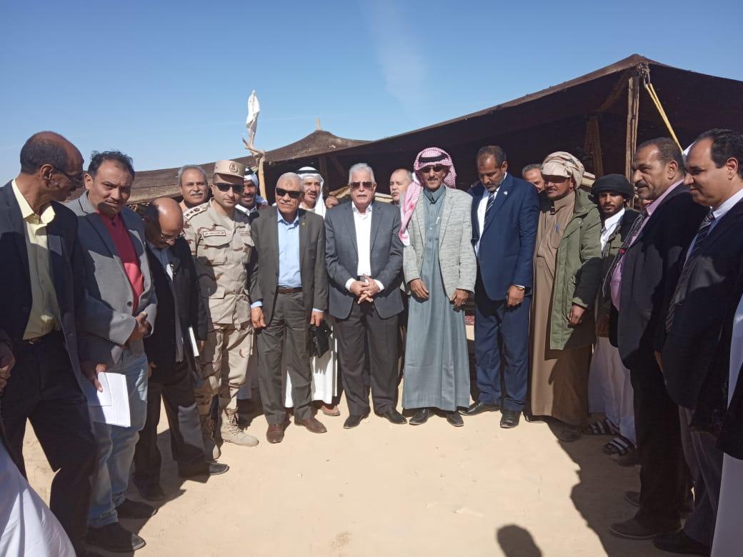 محافظ جنوب سيناء يفتتح ملعبا خماسيا بوادى مكتب والكليو 9  (6)