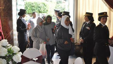استقبال الطلاب