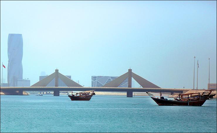 الطقس معتدل فى البحرين