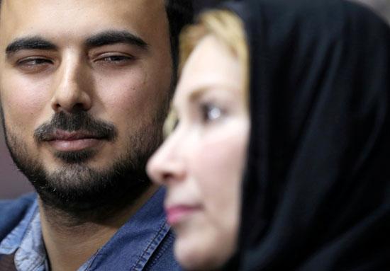نيفين زهير وابنها امجد (1)
