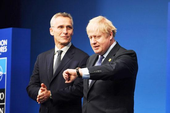 جونسون-وأمين-عام-الناتو