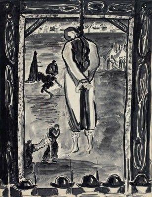 إحدى لوحات إنجى أفلاطون (3)
