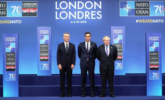 رئيس-وزراء-أسبانيا-بين-جونسون-وأمين-عام-الناتو
