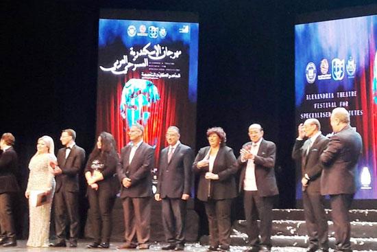 انطلاق مهرجان الإسكندرية للمسرح العربى (6)