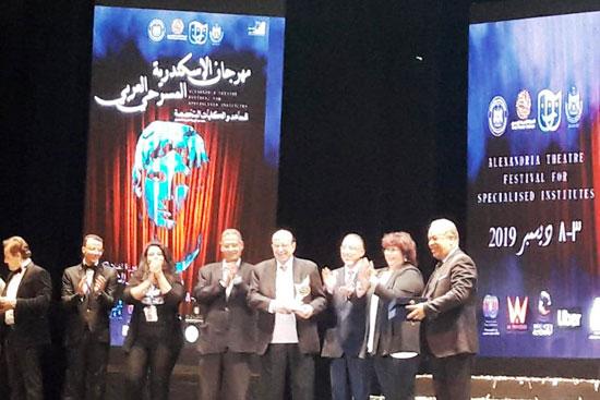 انطلاق مهرجان الإسكندرية للمسرح العربى (2)