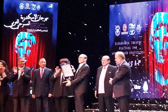 انطلاق مهرجان الإسكندرية للمسرح العربى (8)
