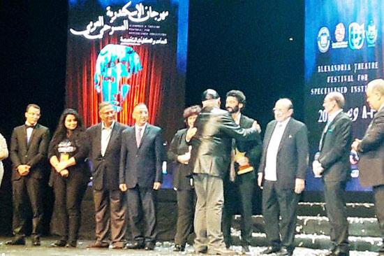 انطلاق مهرجان الإسكندرية للمسرح العربى (1)