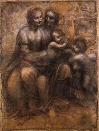 العذراء والطفل مع القديسة آن والقديس يوحنا المعمدان