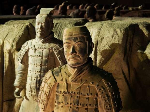 قبر تشين شي هوانغ بالصين