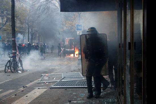 عنف الشرطة الفرنسية