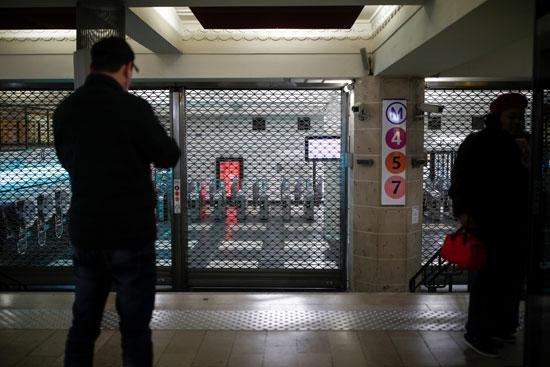 إغلاق-محطة-مترو