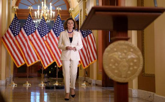 نانسى بيلوسى تتحدث للأمة الأمريكية