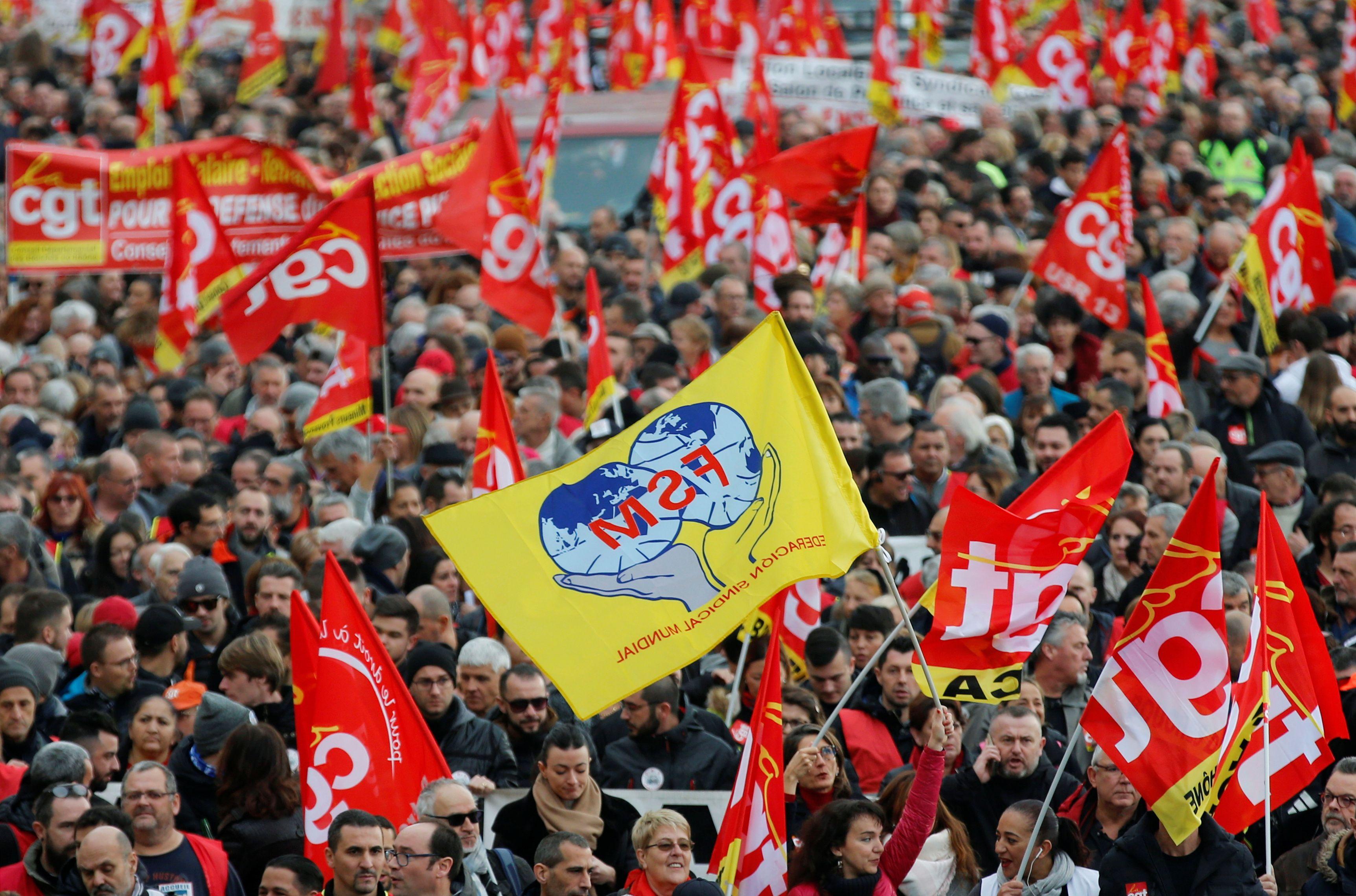 إضراب العمال