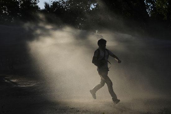 المظاهرات اندلعت منذ عدة أسابيع فى تشيلى بسبب الأوضاع الاقتصادية