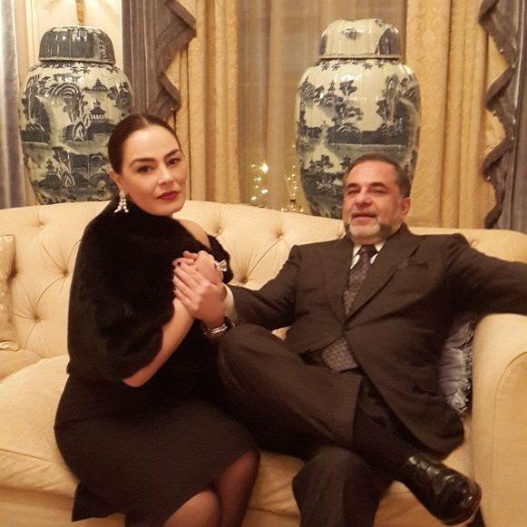 شريهان وزوجها علاء الخواجة