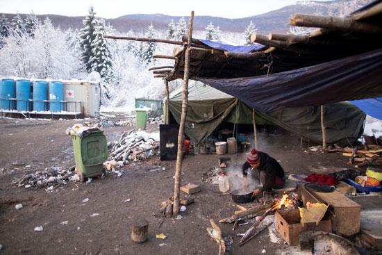 مخيم المهاجرين