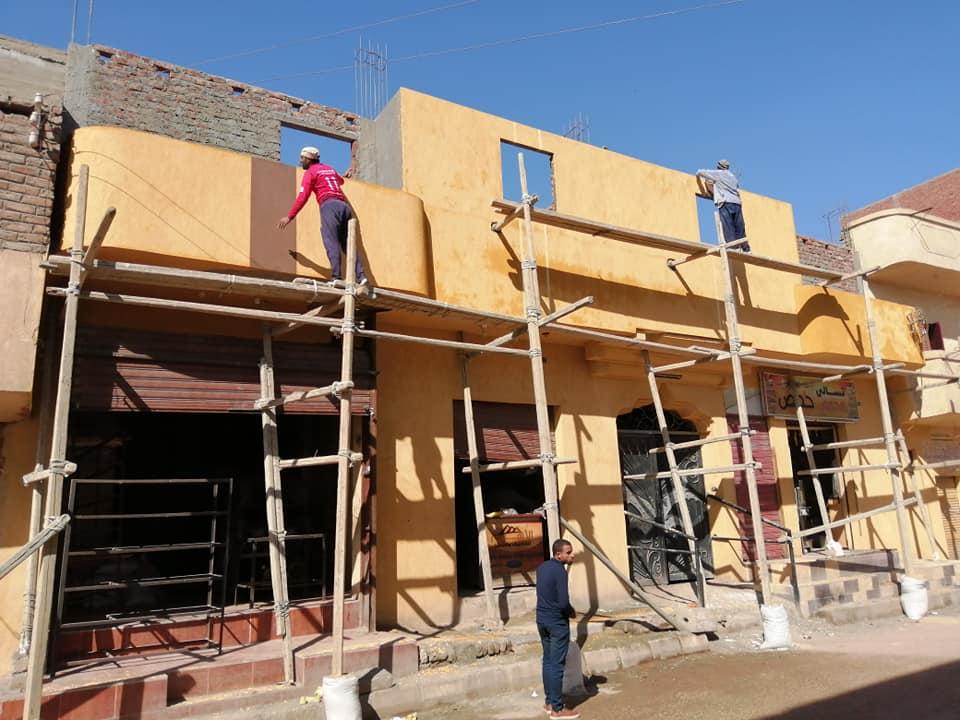 دهان واجهات المنازل باللون الموحد (6)