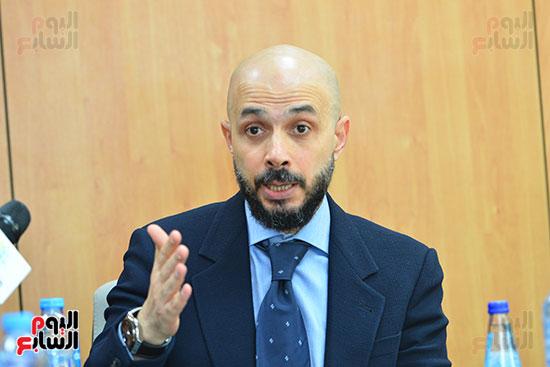 الدكتور خالد الطوخى رئيس مجلس أمناء جامعة مصر للعلوم والتكنولوجيا خلال ندوة اليوم السابع  (11)