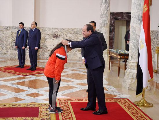 الرئيس-السيسى-خلال-التكريم