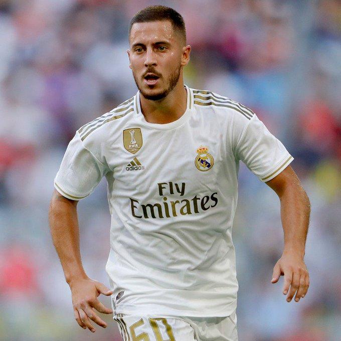 هازارد يغيب عن مباراة ريال مدريد للاصابة