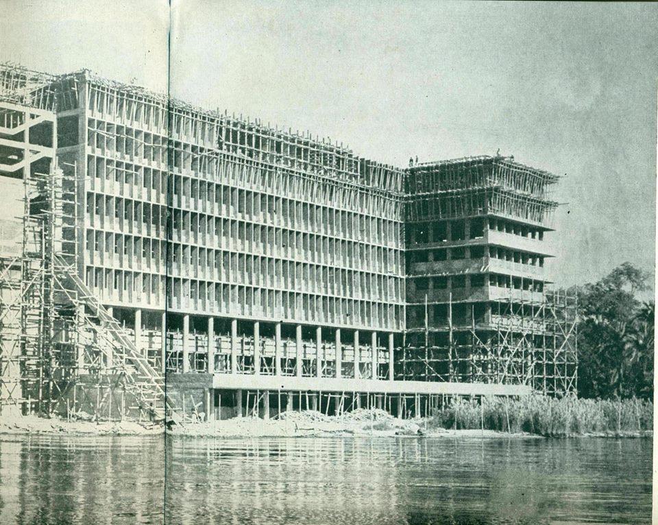 5- صورة أرشيفية للمبنى بعد الأنشاء مباشرة