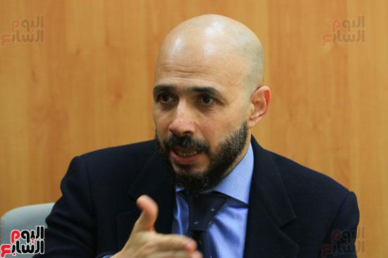 ندوة خالد الطوخى  رئيس مجلس أمناء جامعة مصر للعلوم والتكنولوجيا بجريدة اليوم السابع  (17)