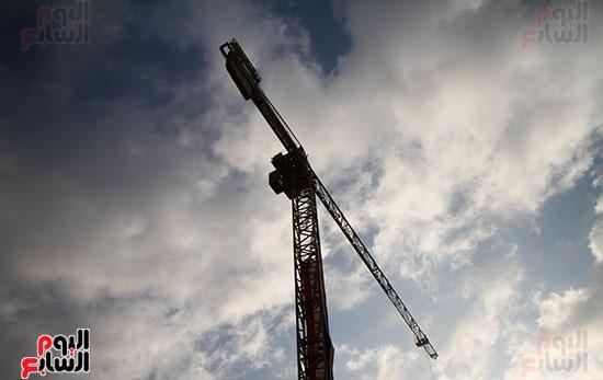 رئيس الوزراء يشهد دخول ماكينة الحفر العميق لمحطة ماسبيرو (11)