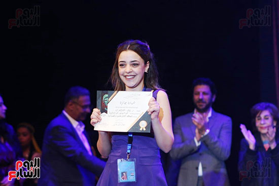 جوائز مهرجان اسكندرية للمسرح العربى (33)