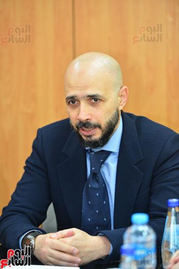 ندوة خالد الطوخى  رئيس مجلس أمناء جامعة مصر للعلوم والتكنولوجيا بجريدة اليوم السابع  (13)