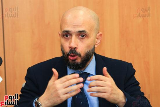 ندوة خالد الطوخى  رئيس مجلس أمناء جامعة مصر للعلوم والتكنولوجيا بجريدة اليوم السابع  (16)