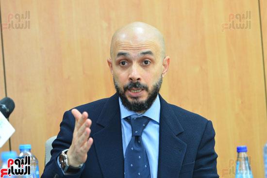 ندوة خالد الطوخى  رئيس مجلس أمناء جامعة مصر للعلوم والتكنولوجيا بجريدة اليوم السابع  (11)