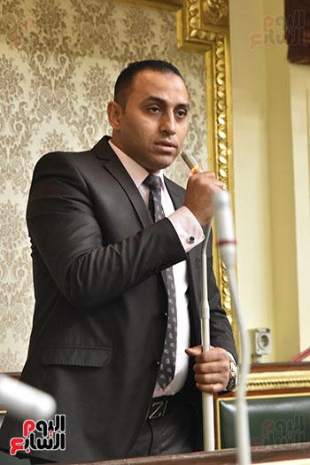 تأبين البرلمان للنائب محمد بدوي دسو (6)