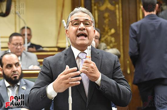 النائب أحمد السجينى رئيس لجنة الإدارة المحلية