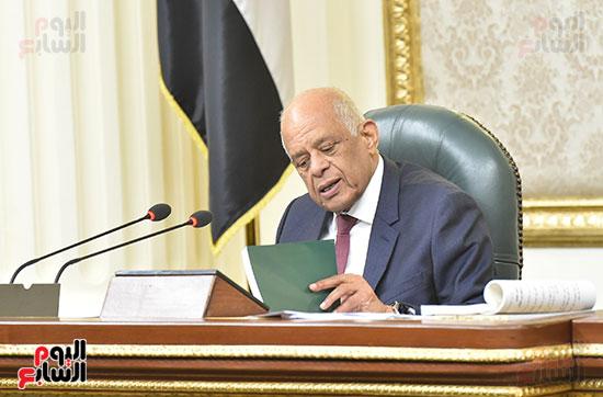 تأبين البرلمان للنائب محمد بدوي دسوقي (1)