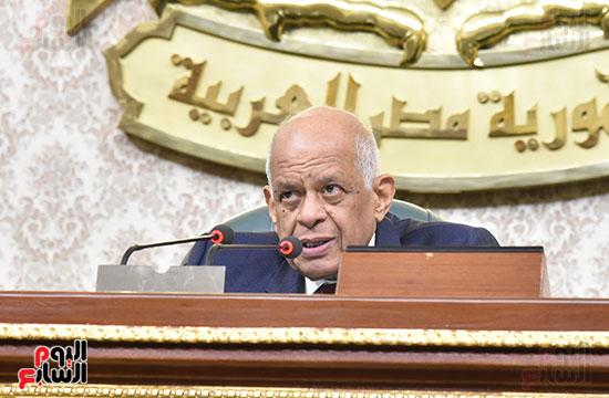 تأبين البرلمان للنائب محمد بدوي دسو (13)