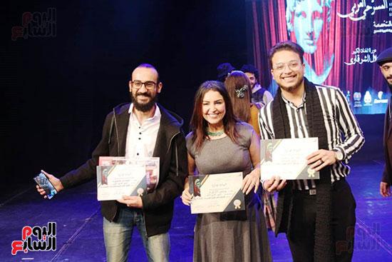جوائز مهرجان اسكندرية للمسرح العربى (15)