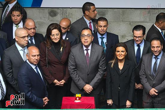رئيس الوزراء يشهد دخول ماكينة الحفر العميق لمحطة ماسبيرو (6)