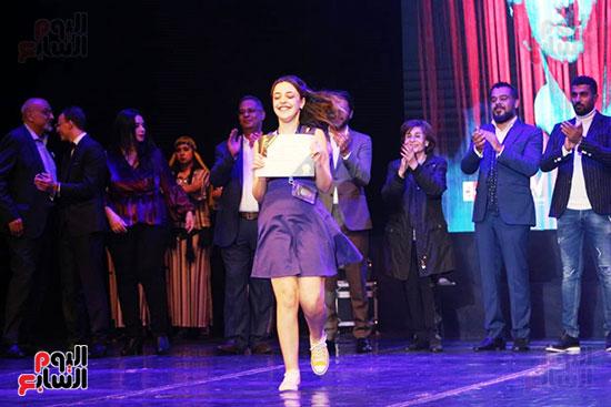 جوائز مهرجان اسكندرية للمسرح العربى (17)