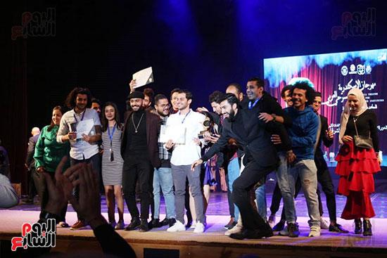جوائز مهرجان اسكندرية للمسرح العربى (21)