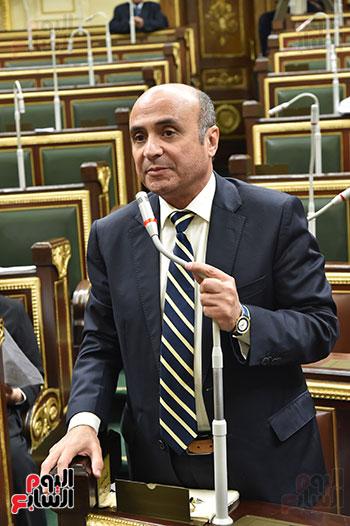 تأبين البرلمان للنائب محمد بدوي دسو (11)